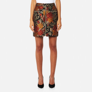 Gestuz Women's Edie Jacquard Skirt - Red