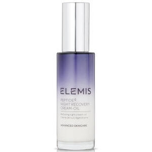 Elemis Peptide4 Night Recovery Cream-Oil 30ml: Image 1