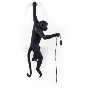 Seletti Hanging Monkey Lamp - Black