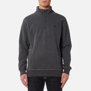 Joules Men's Oakhurst Half Zip Sweatshirt - Charcoal Marl