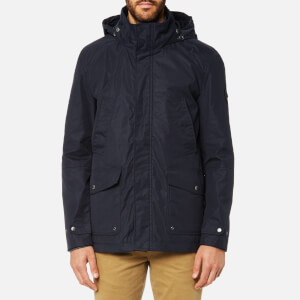 Joules Men's Waterproof Field Coat with Quilted Lining - Marine Navy