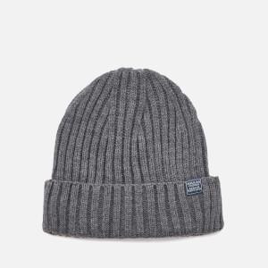 Joules Men's Bamburgh Beanie Hat - Grey