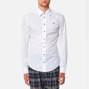 Vivienne Westwood MAN Men's Stretch Poplin Classic Shirt - White