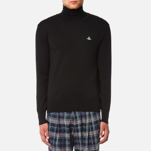 Vivienne Westwood MAN Men's Turtle Neck Knitted Jumper - Black