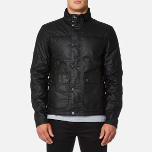Barbour International Men's Inlet Wax Jacket - Black/Gun