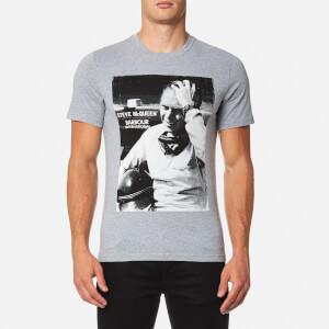 Barbour X Steve McQueen Men's Close Up T-Shirt - Grey Marl