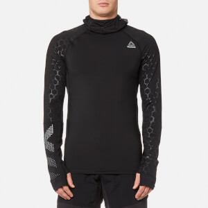 Reebok Men's Hex Reflective Scuba Sweatshirt - Black