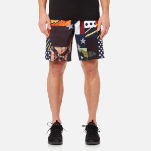 Reebok Men's CrossFit Super Nasty Core Board Shorts - Primal Yellow