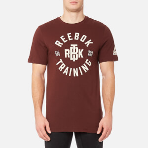 Reebok Men's Reebok Training Short Sleeve T-Shirt - Burnt Sienna