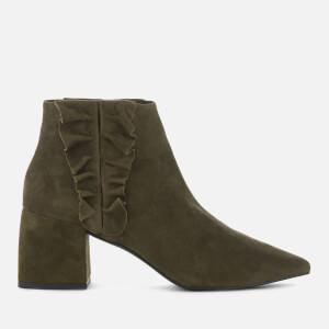 Senso Women's Sloan II Suede Heeled Ankle Boots - Moss