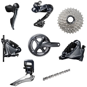 Shimano Ultegra R8070 Di2 11 Speed Groupset - Hydraulic Disc Brake