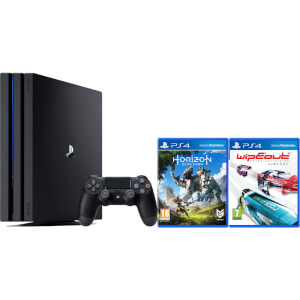 Sony PlayStation 4 Pro 1TB Console - Includes Horizon Zero Dawn & WipEout: Omega Collection