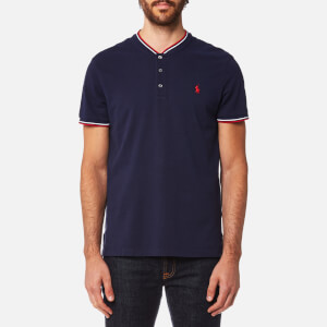 Polo Ralph Lauren Men's Bomber Collar Polo Shirt - French Navy