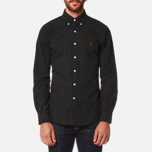 Polo Ralph Lauren Men's Garment Dye Oxford Shirt - RL Black