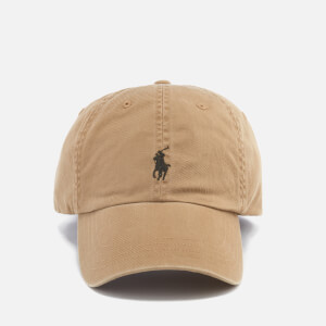 Polo Ralph Lauren Men's Small Logo Cap - Granary Tan