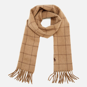 Polo Ralph Lauren Men's Check Scarf - Beige