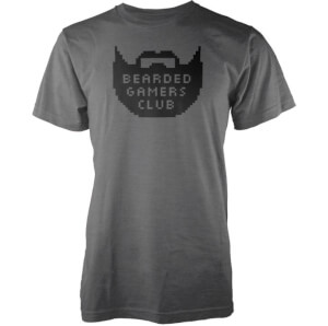 Bearded Gamers Club Men's Charcoal T-Shirt