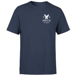 T-Shirt Homme Surf Up Poche Imprimée Native Shore - Bleu Marine
