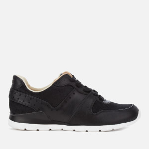 UGG Women's Deaven Exotic Cow Hair/Leather Running Trainers - Black