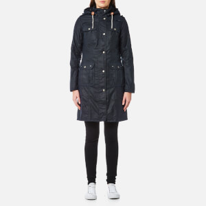 Barbour Women's Winterton Wax Jacket - Royal Navy