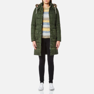 Barbour Women's Winterton Quilt Coat - Kelp