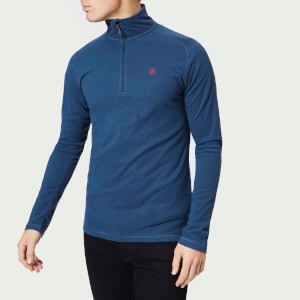 Fjallraven Men's Pine Half Zip Micro Fleece - Storm