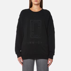 Marc Jacobs Women's Logo Sweatshirt - Black