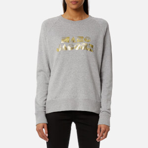 Marc Jacobs Women's Graphic Logo Sweatshirt - Grey Melange