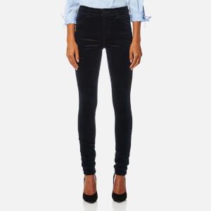 J Brand Women's Maria High Rise Skinny Jeans - Dark Iris