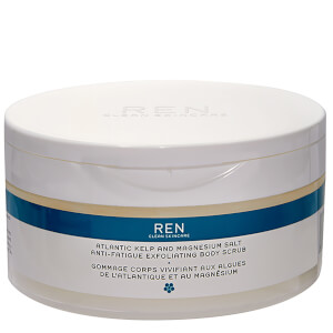 REN Skincare Atlantic Kelp and Magnesium Salt Anti-Fatigue Exfoliating Body Scrub 330 ml