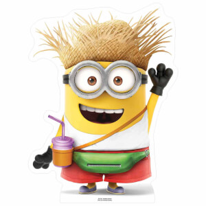 Despicable Me 3: Vacation Minion with Drink Small Cut Out