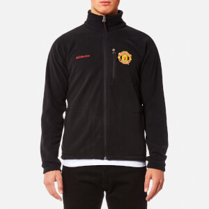 Columbia Men's Manchester United Fast Trek Full Zip Fleece - Black