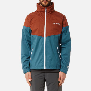 Columbia Men's Inner Limits Jacket - Blue Heron/Rusty/White