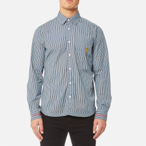 Vivienne Westwood Anglomania Men's Classic Shirt - Blue Stripes