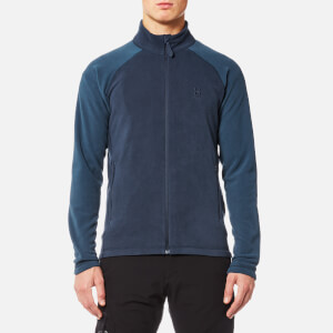 Haglöfs Men's Astro II Micro Fleece Jacket - Tarn Blue/Blue Ink