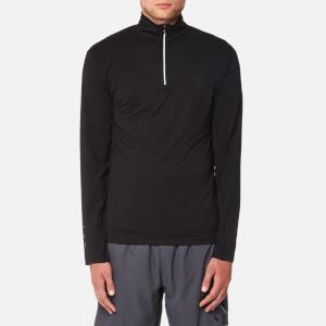 Polo Ralph Lauren Men's Performance Long Sleeve 1/2 Zip Top - Polo Black