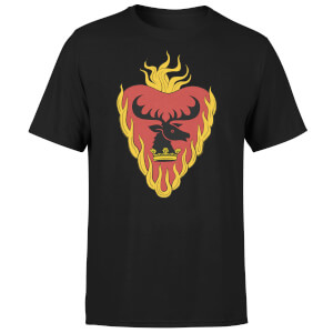 Game of Thrones Stannis Baratheon Sigil T-Shirt - Schwarz