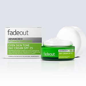 Crema de día enriquecida ADVANCED + Vitamina Even Skin Tone FPS 25 de Fade Out 50 ml