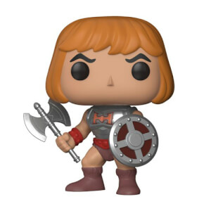 MOTU Battle Armor He-Man mit Damage Armor Pop! Vinyl Figur