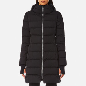 Herno Women's Woven Matte Down Coat - Black
