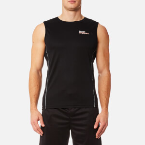 Superdry Sport Men's Core Train Wick Mesh Pique Tank Top - Black