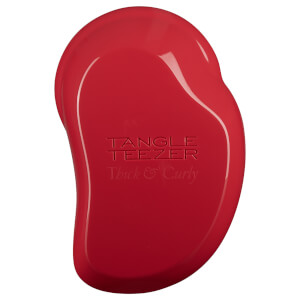 Cepillo para cabello grueso y rizado de Tangle Teezer - Salsa Red