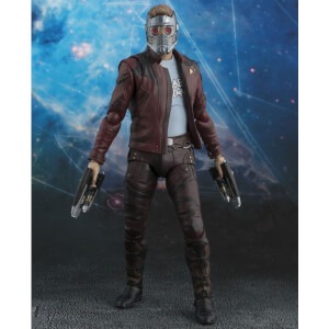 Figurine Star-Lord & Explosion Les Gardiens de la Galaxie Vol. 2 S.H. Figuarts - 17 cm