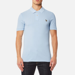 PS by Paul Smith Men's Zebra Logo Polo Shirt - Sky