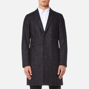 PS by Paul Smith Men's Single Breasted Overcoat - Black