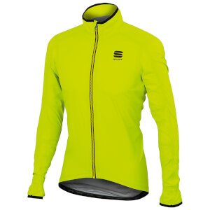Sportful Stelvio Jacket - Yellow Fluo