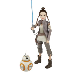 Figurine Rey de Jakku et BB-8 Star Wars : Forces du destin - Hasbro