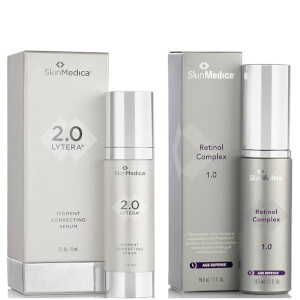 SkinMedica LYTERA 2.0 Pigment Correcting Serum and Retinol Complex 1.0 (Worth $246)