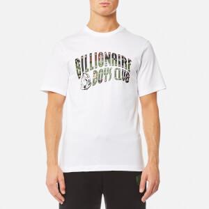 Billionaire Boys Club Men's Space Camo Arch Logo T-Shirt - White