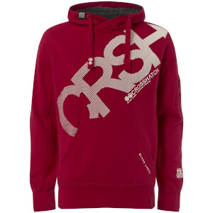 Crosshatch Men's Intersink Hoody - Barbados Red